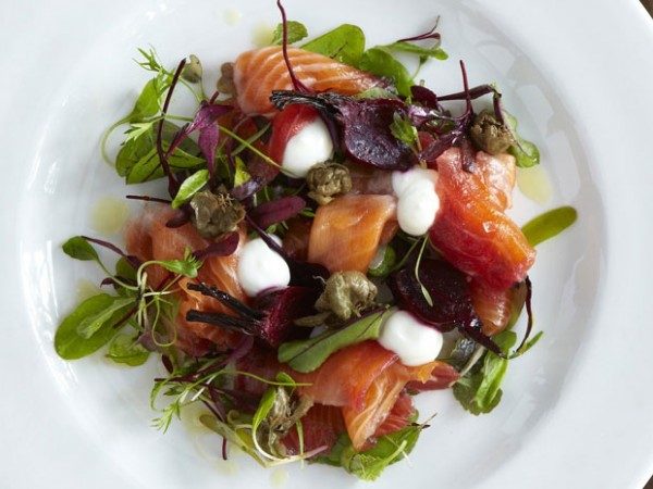 Something for the adults: a delicious dish at Cafe Roux. Photo courtesy of the restaurant.