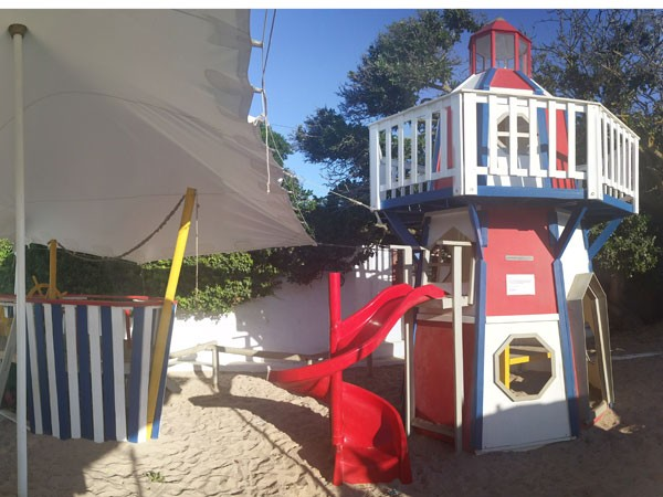 The play area at Die Damhuis. Photo supplied.