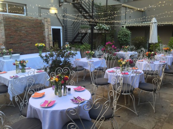 Romantic Arbour Cafe is great for dates and Valentine's Day