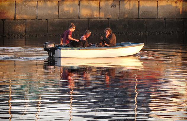 Boating in Knysna