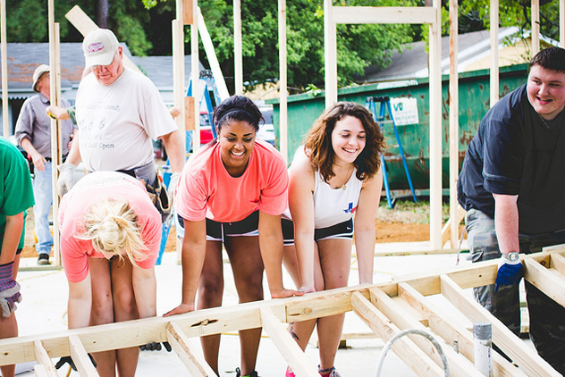 Help out at Habitat for Humanity
