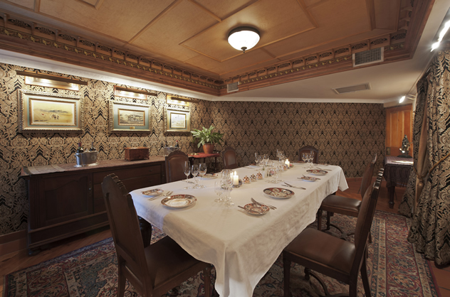 The interior of Restaurant Mosaic at The Orient. Photo courtesy of the restaurant.