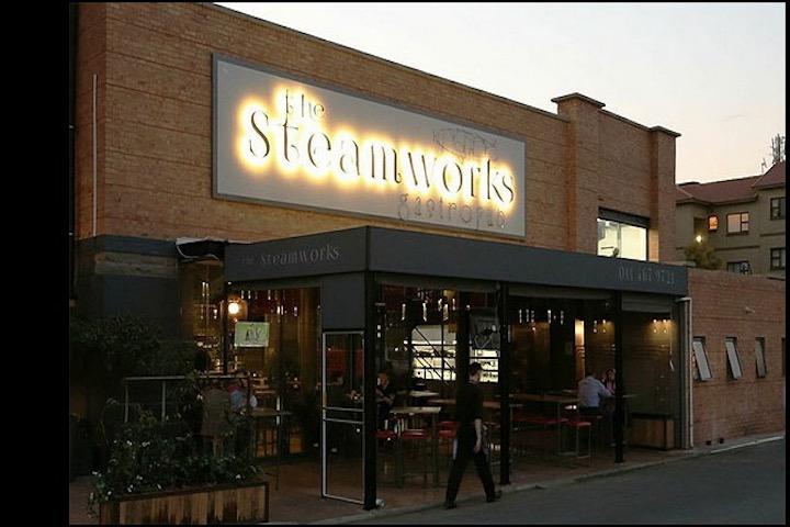 steamworks chicago parking