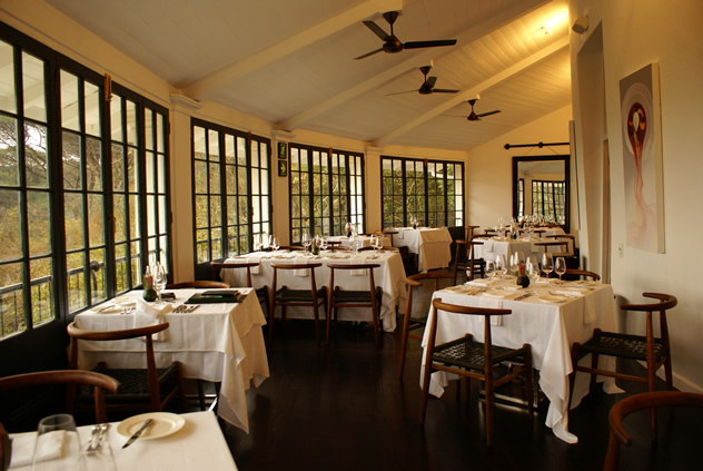 The Somerset Room at The Roundhouse. Photo courtesy of the restaurant.