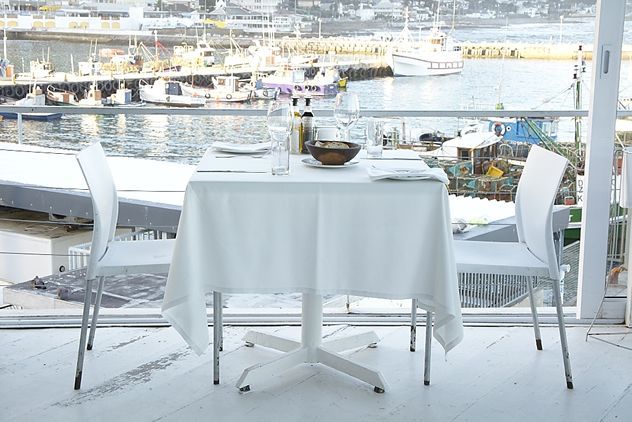 View from the Harbour House in Kalk bay. Photo courtesy of the restaurant.