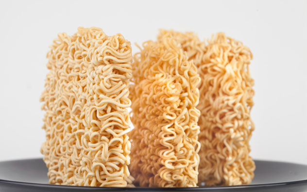 2-minute noodle cakes.