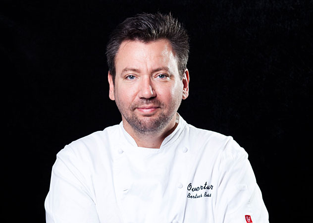 Chef Bertus Basson of Overture.