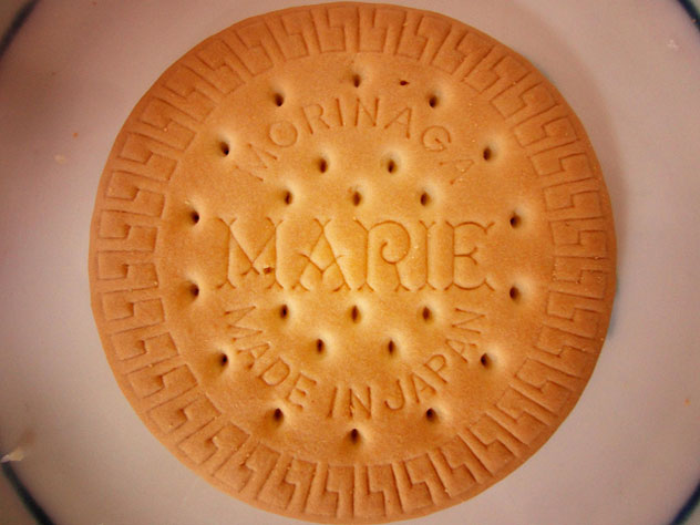 A Marie Biscuit