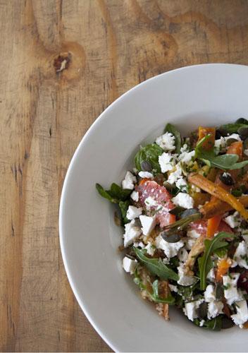 Salad at Parc Café