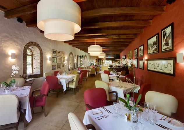 Rust en Vrede Restaurant Interior. Photo courtesy of the restaurant.