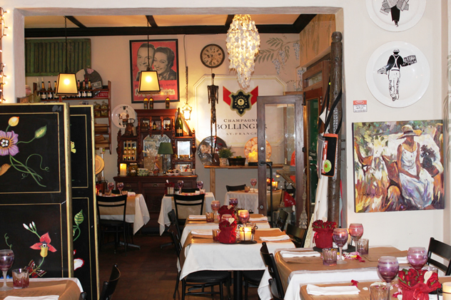 The interior at Possums Bistro and Deli. Photo courtesy of the restaurant.