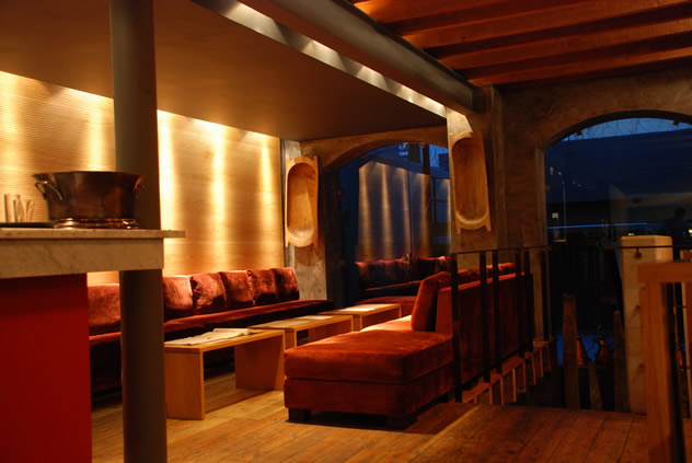 The interior at Carne SA. Photo courtesy of the restaurant.