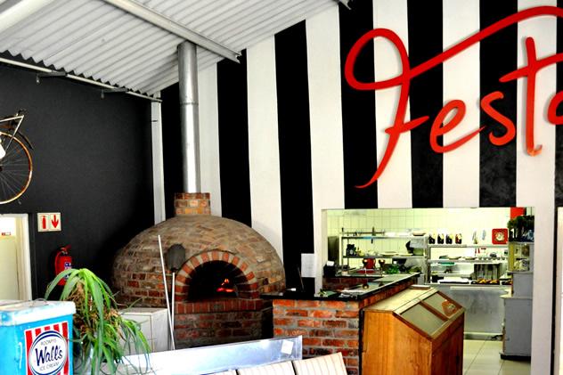 The interior at Festa. Photo courtesy of the restaurant.