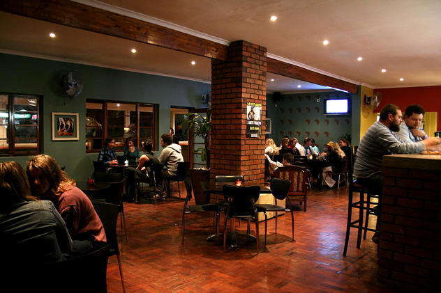 The interior at Sgt Pepper. Photo courtesy of the restaurant.