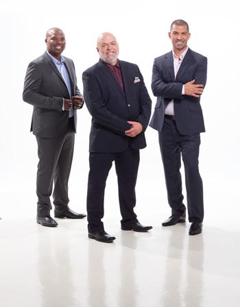 The judges of Masterchef SA.