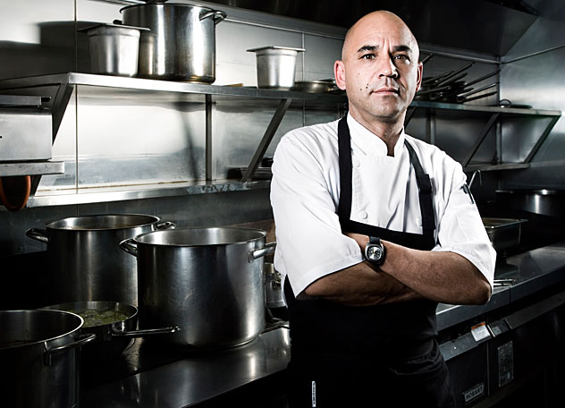 Tokara Restaurant Chef Richard Carsten. Photo courtesy of the restaurant.
