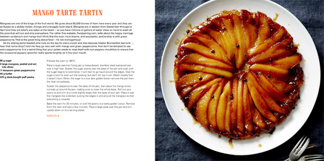 A spread from Matt's newest title, CookBook.