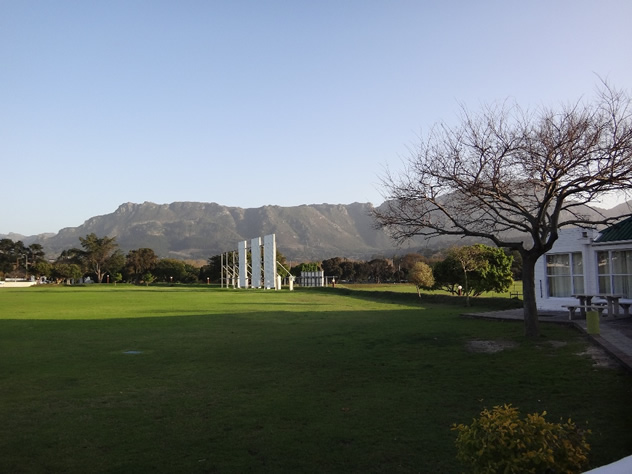 An outside view of The Clubhouse at Claremont Cricket Club. Photo courtesy of the clubhouse.