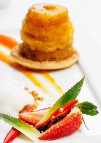 Dessert at Cafe Bon Bon