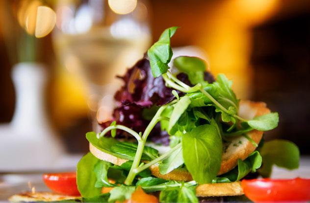 Salad at Café Bon Bon