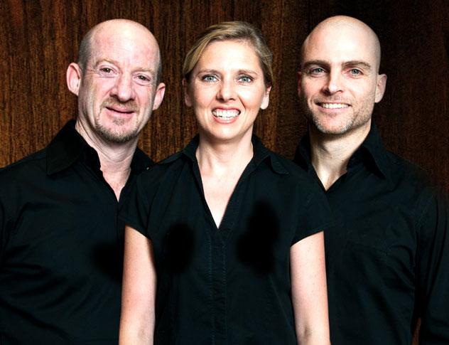 The directors: Michael, Kinga and Greg