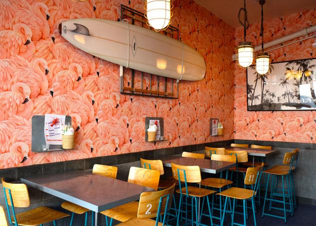 The interior of Hallelujah. Photo courtesy of the restaurant.