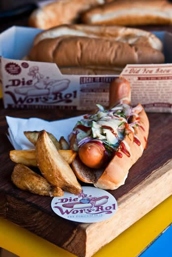 Hotdog from Die Wors-Rol