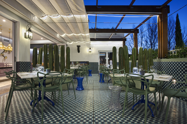 Makaron's terrace. Photograph supplied by the restaurant