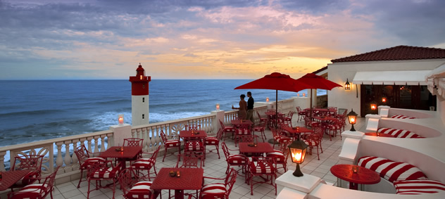 The Lighthouse Bar at The Grill Room. Photo courtesy of the restaurant.