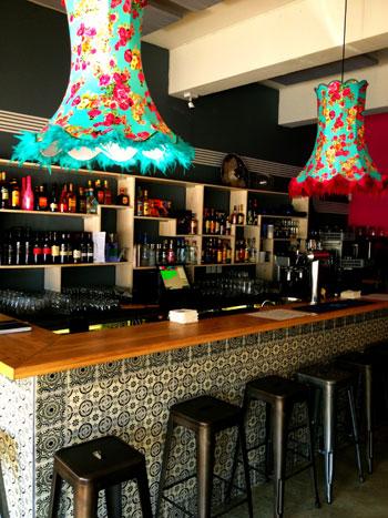 The bar at Perron Mexican Restaurant. Photo courtesy of the establishment.