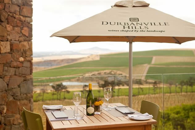 The deck at the Durbanville Hills Eatery. Photo courtesy of the restaurant.