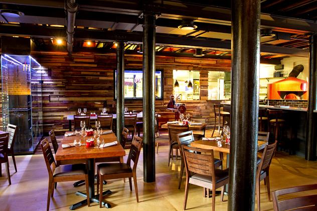 The interior at Burrata. Photo courtesy of the restaurant