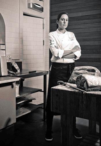 Chef Jodi-Ann Pearton. Photo courtesy of Col'Cacchio.