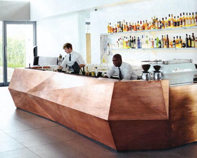 The bar at Equus
