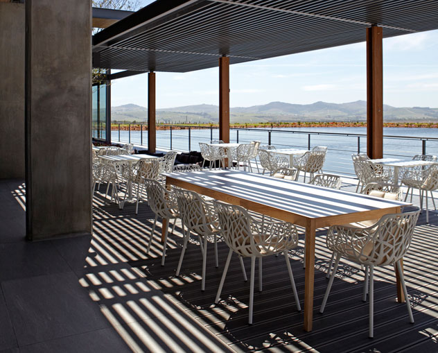 The terrace at Equus