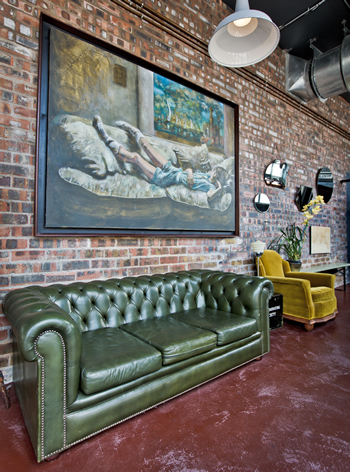The interior at Devil's Peak Taproom. Photo courtesy of the restaurant.