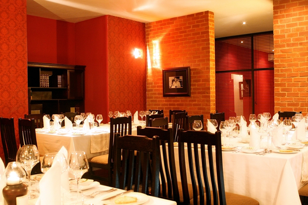 The interior at Hemingways Restaurant. Photo courtesy of the restaurant.