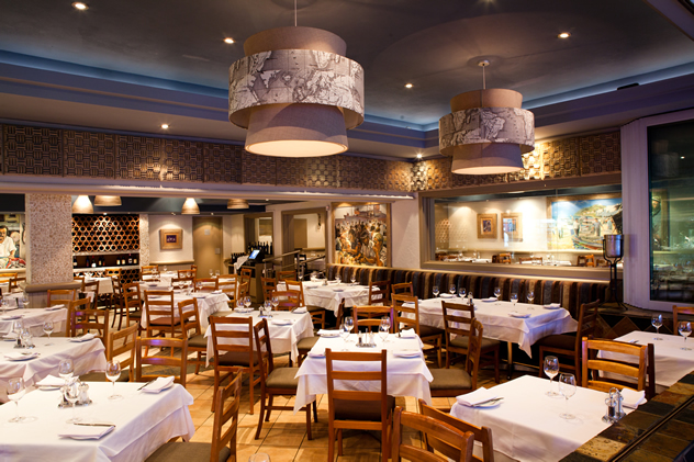 The interior of Fishmonger. Photo courtesy of the restaurant.