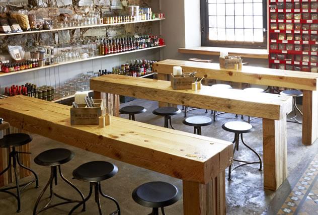 Chefs Warehouse interior. Photo courtesy of the restaurant.