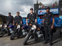Dominos motorbikers