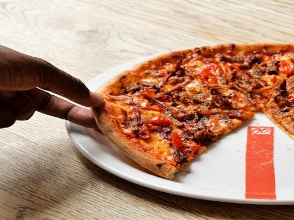 pizza at Doppio Zero