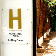 H – Homestyle Eatery