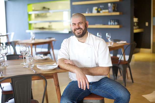 Chef Nic van Wyk of Bistro 13. Photo courtesy of the restaurant.
