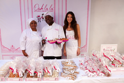 Meet the South African confectioner who just won four awards at one of UK's biggest food competitions