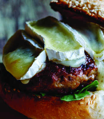 Alida Ryder's pork and apple burgers Recipe - EatOut