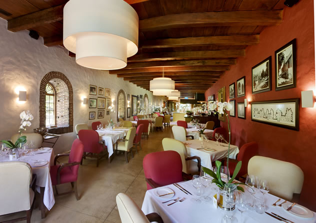 Inside Rust en Vrede Restaurant. Photo courtesy of the restaurant.