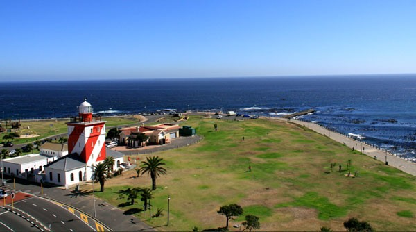 Looking down on Sotano's location: on street level in Mouille Point. Photo courtesy of the restaurant.