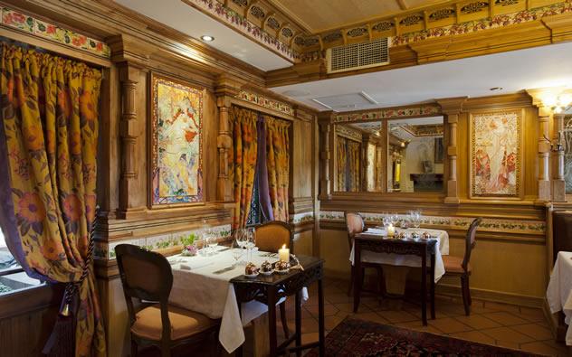 The interior at Restaurant Mosaic