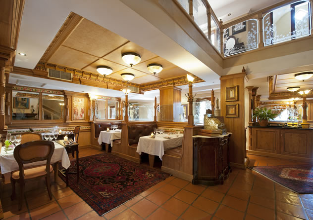 The interior at Restaurant Mosaic. Photo courtesy of the restaurant.