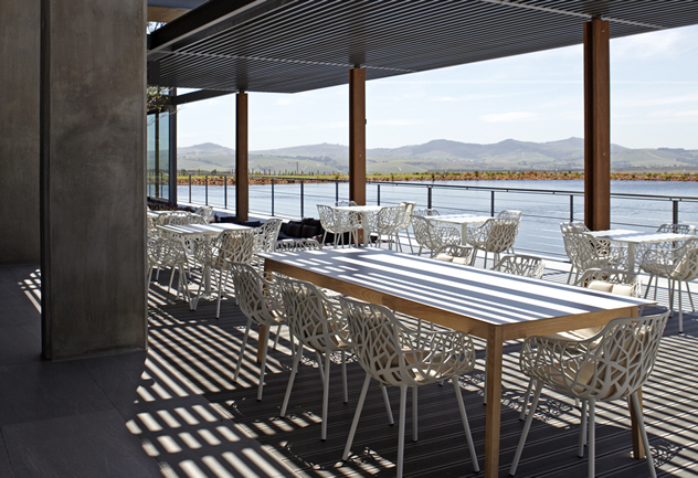 The terrace at Equus dine at Cavalli. Photo courtesy of the restaurant.